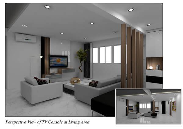 Tv console laurus design pte ltd for Consoles murales design