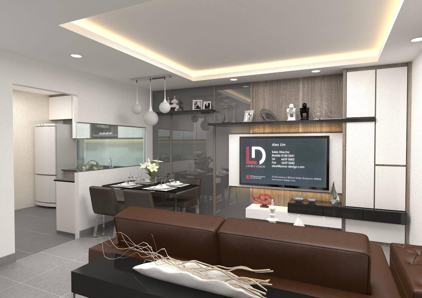 4 Room Hdb Laurus Design Pte Ltd