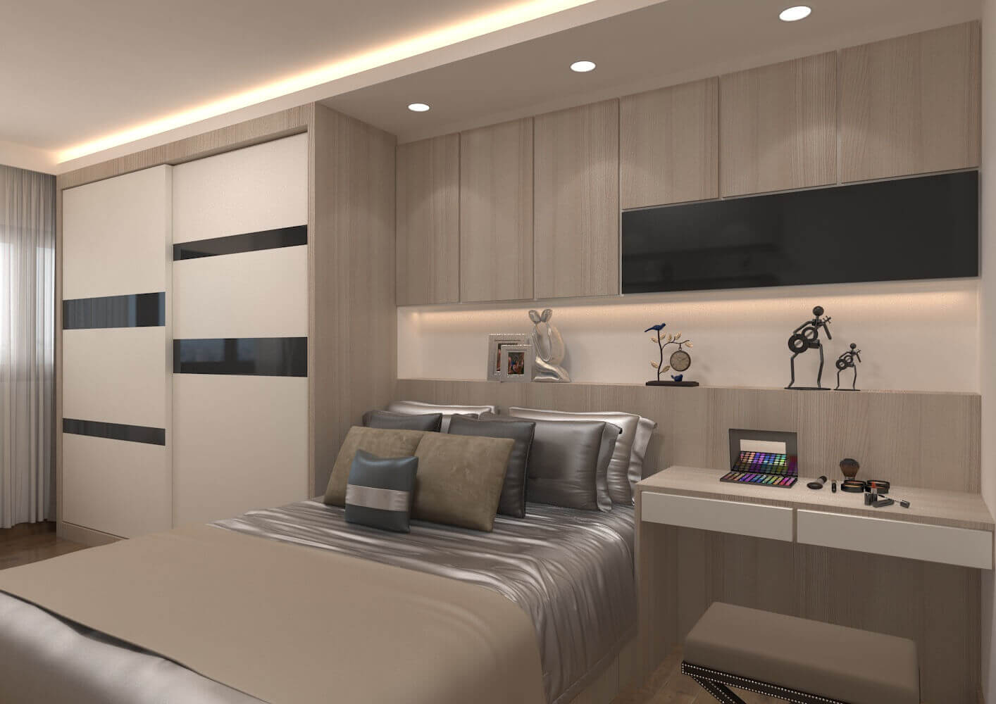 Master Bedroom1 Laurus Design Pte Ltd